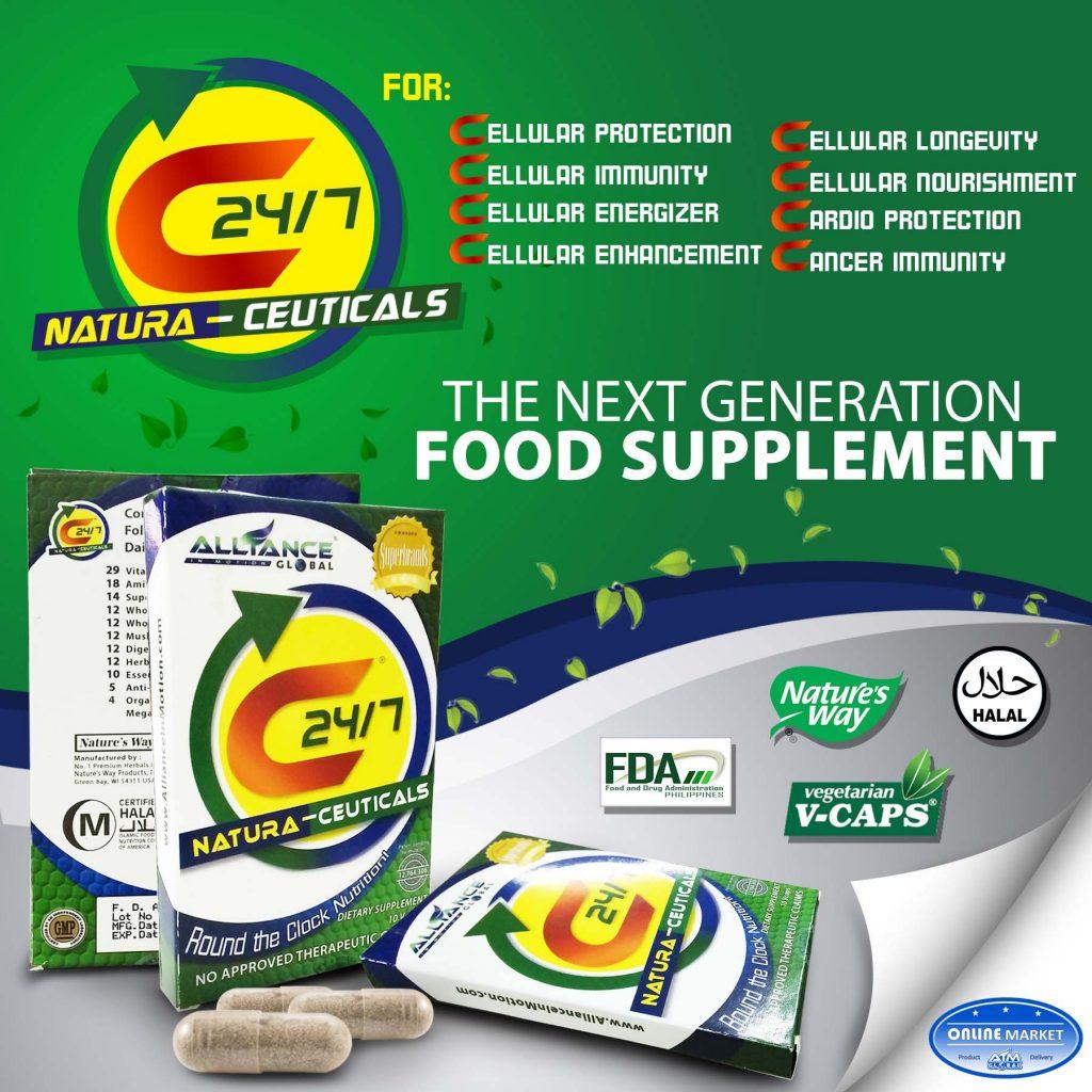 C24_7_natura ceuticals food supplement